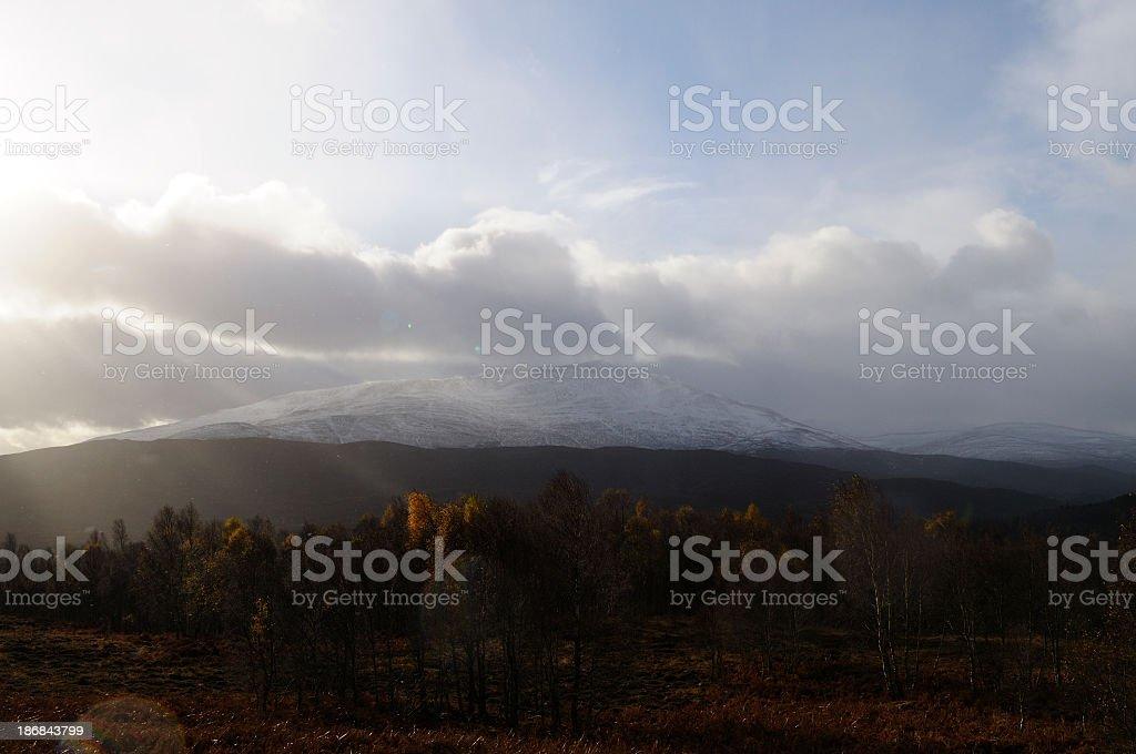 Scottish autumn stock photo