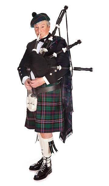 schottische dudelsack - schottische kultur stock-fotos und bilder