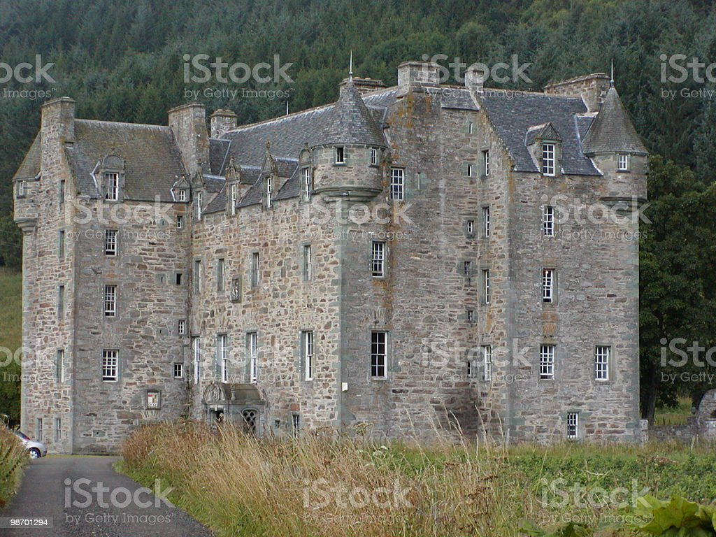 Scottish castle royalty-free stock photo