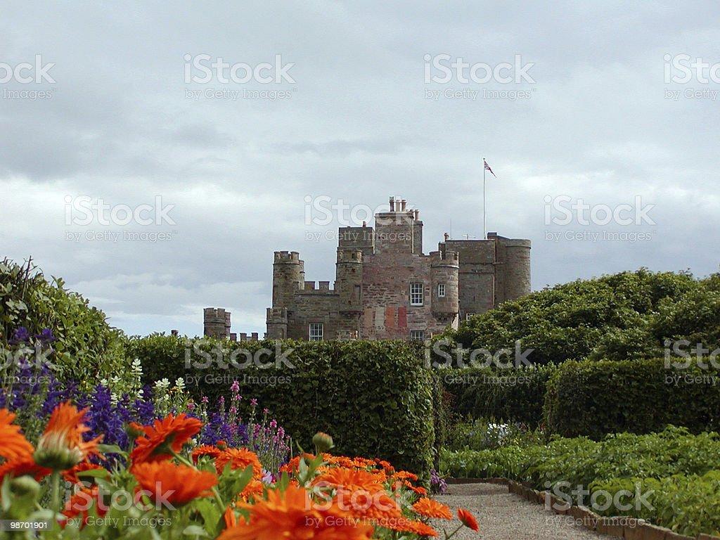 Scottish Castle royalty-free stock photo