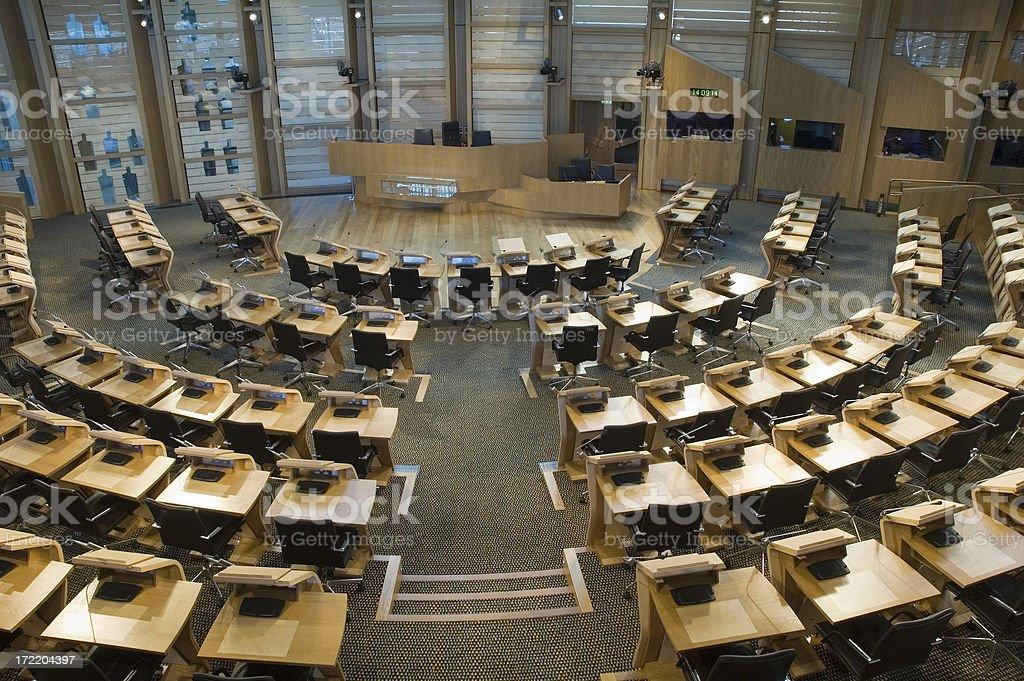 Scottish Chambers stock photo