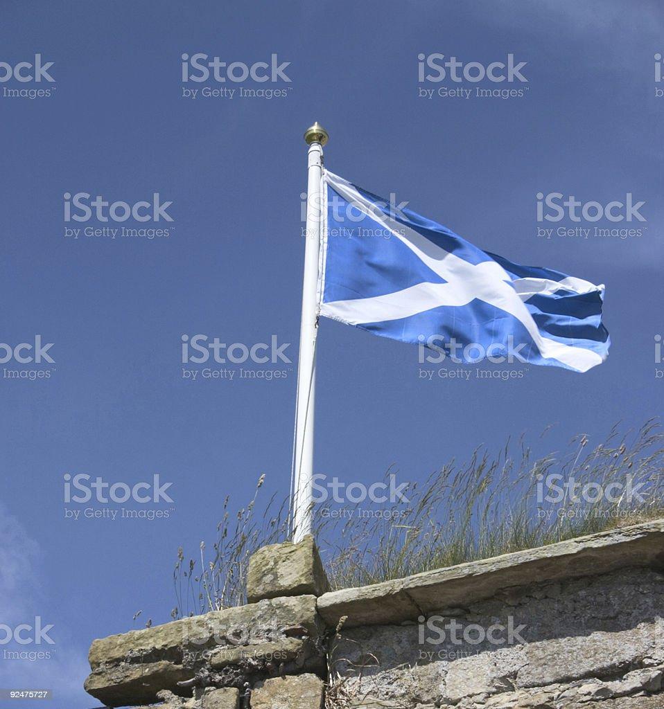 Scottish Flag 1 royalty-free stock photo