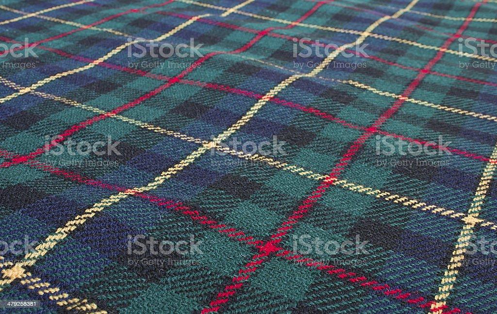 scottish highland tartan weave stock photo