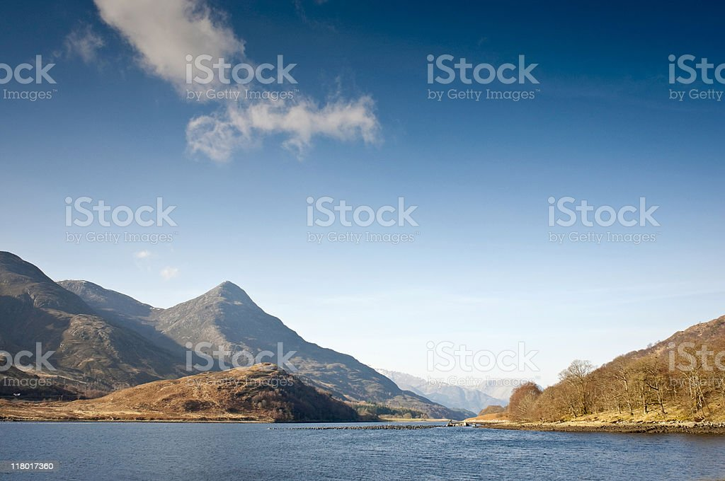Scottish Highlands royalty-free stock photo