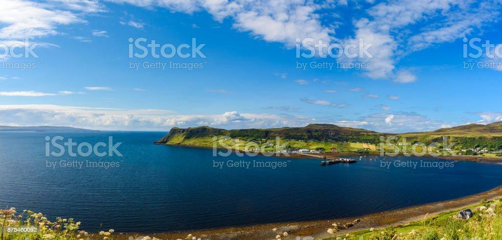 Scottish Highlands scenery stock photo