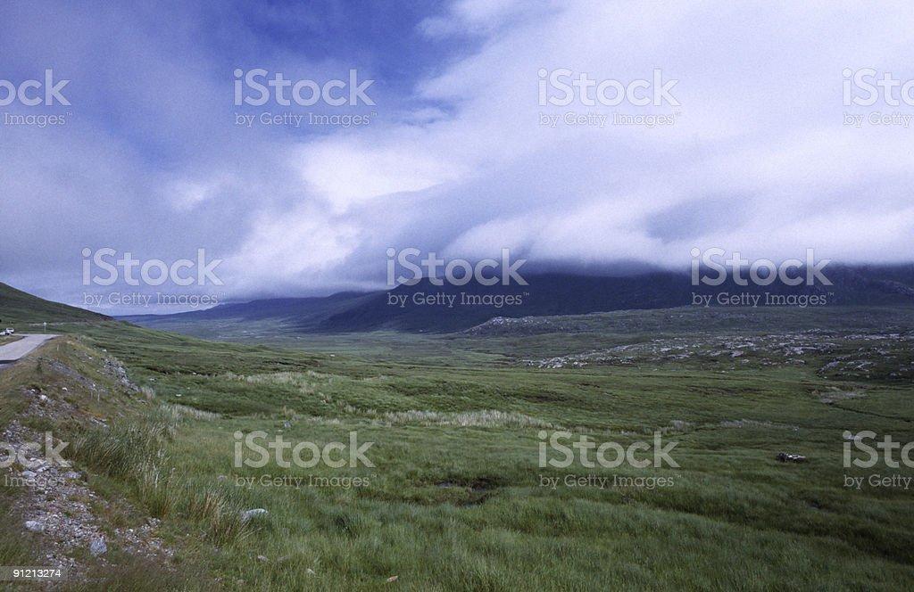 Scottish Higlands stock photo