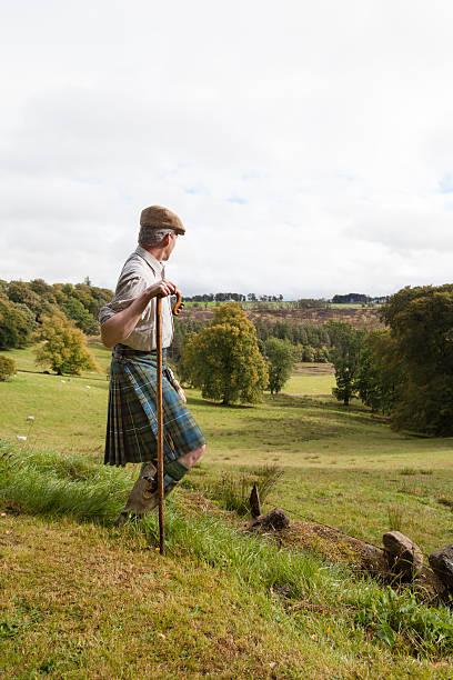 Scottish hunter with ha-ha foto
