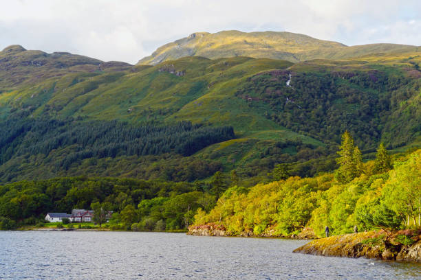 Scottish landscapes: Loch Lomond and the Trossachs National Park, Scotland, UK stock photo