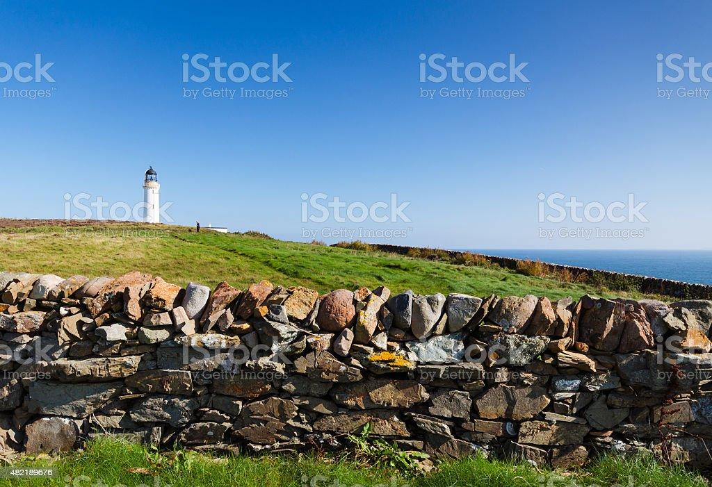 Scottish Lighthouse stock photo