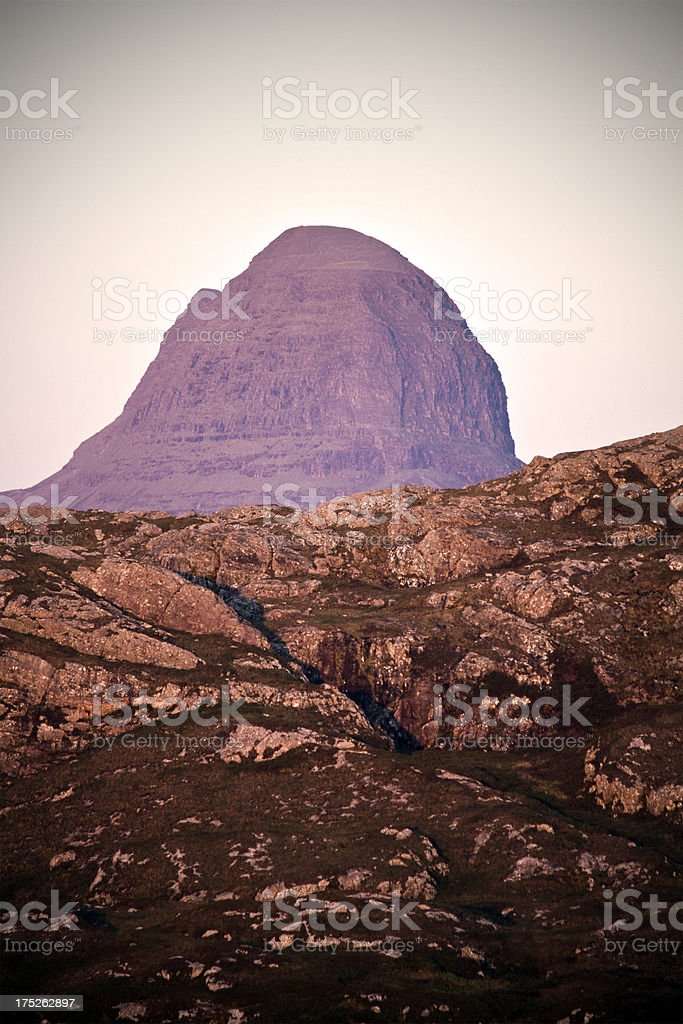 Scottish Mountain royalty-free stock photo