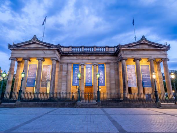 Scottish National Gallery, Edinburgh - foto stock