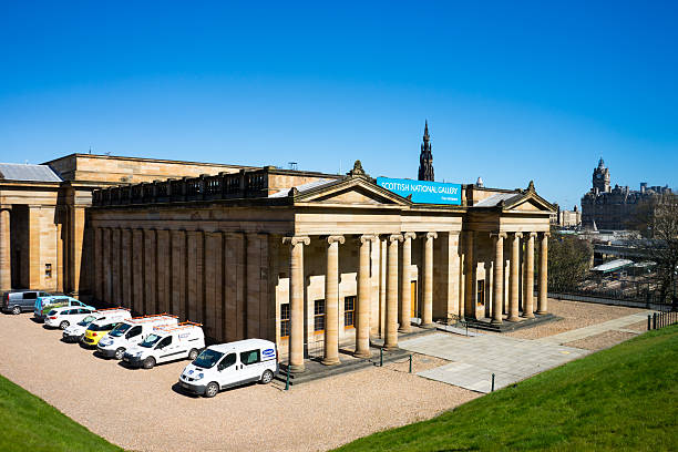 Scottish National Gallery stock photo