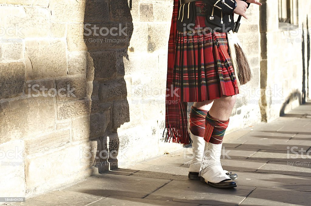 Scottish royalty-free stock photo