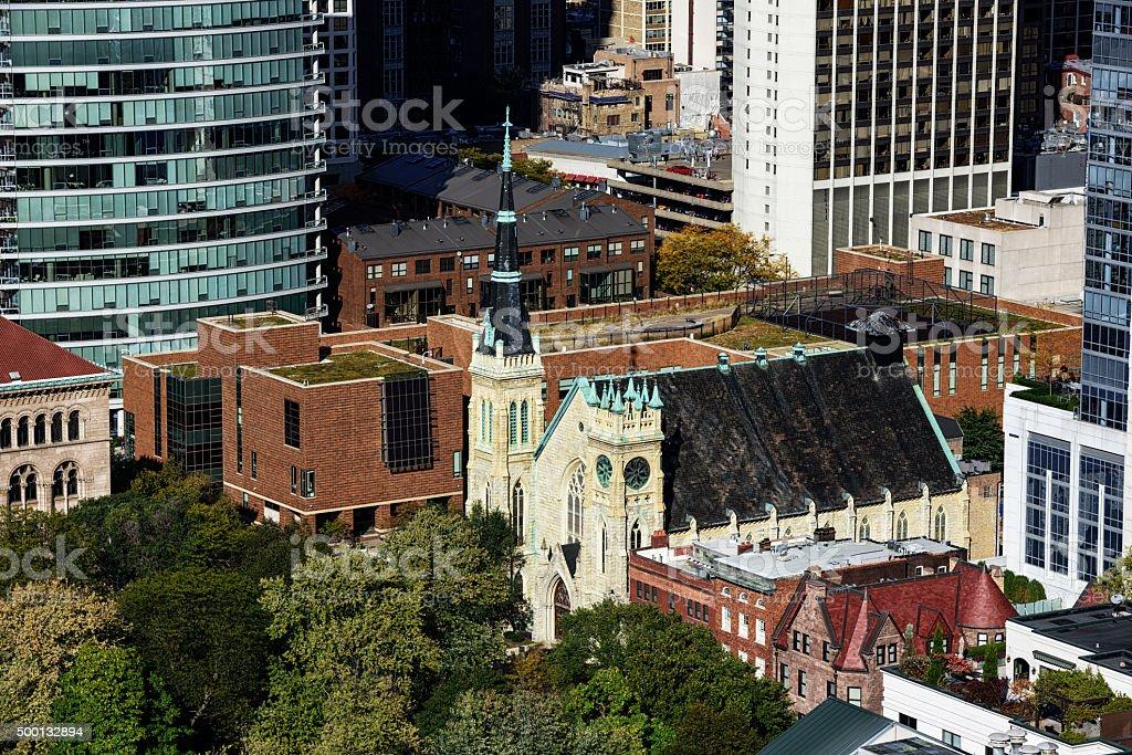 Scottish Rite Cathedral, du centre-ville de Chicago - Photo