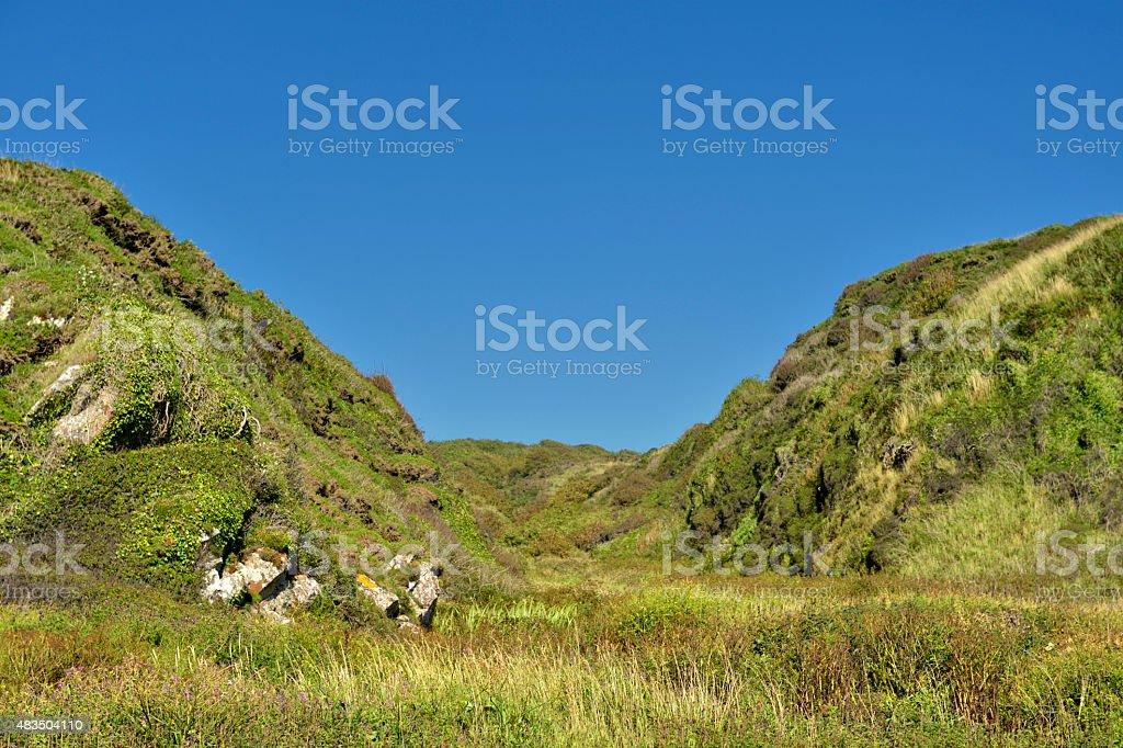 Scottish rural scene in summer stock photo