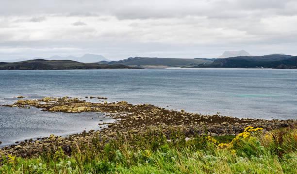 Scottish seaside view stock photo