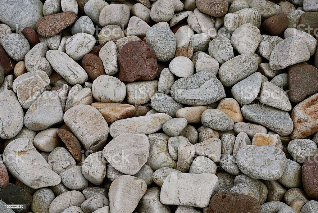 scottish stones stones on beach in achiltibuie sctland Beach Stock Photo