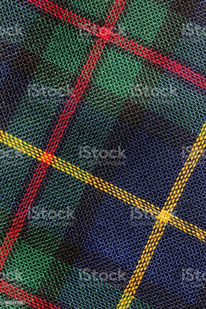Scottish Tartan Background stock photo