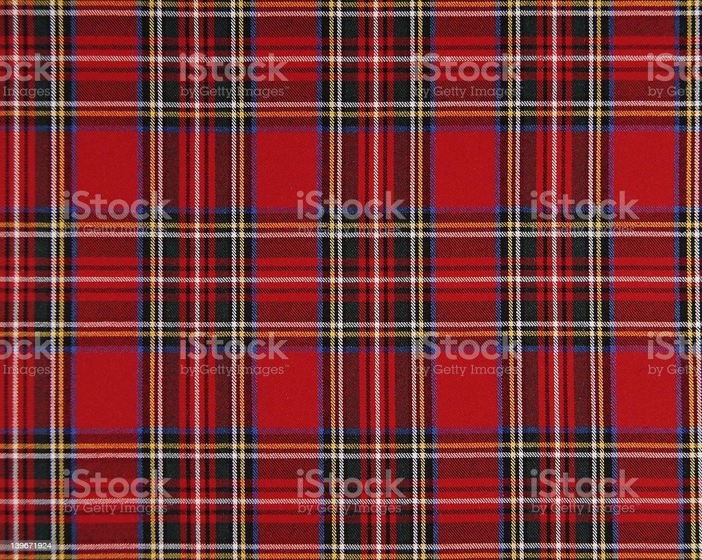 Scottish tissue royalty-free stock photo