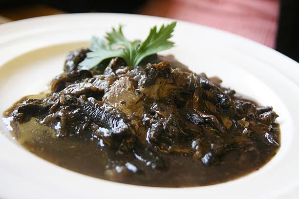 Scottish Venison dish stock photo