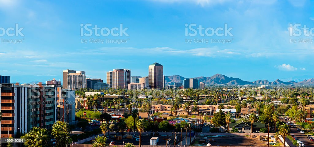 Scottsdale Arizona stock photo