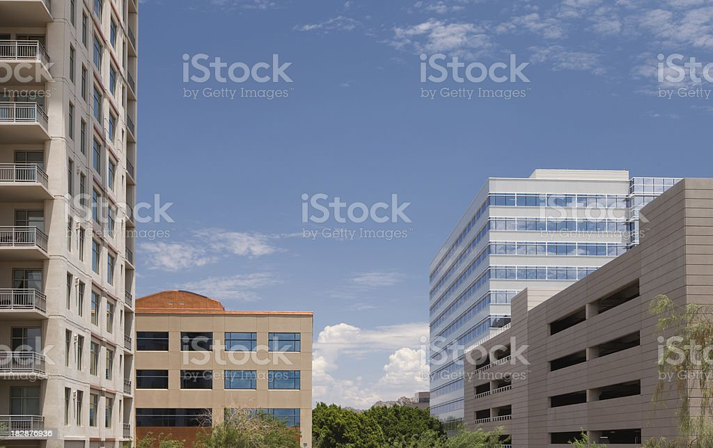 Scottsdale Business District royalty-free stock photo
