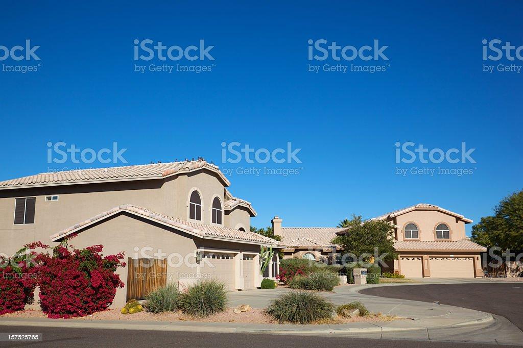 Scottsdale Homes stock photo