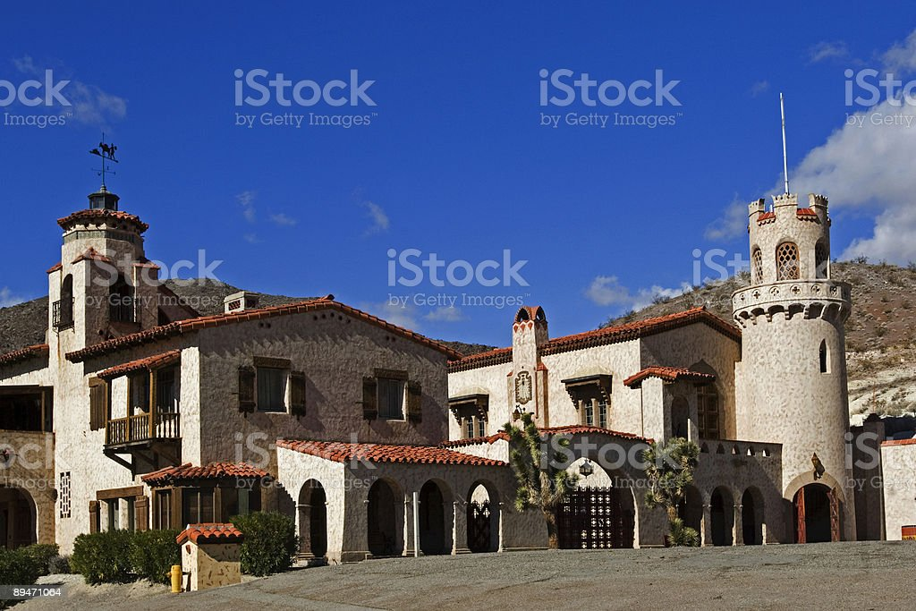 Scotty's Castle royalty-free stock photo