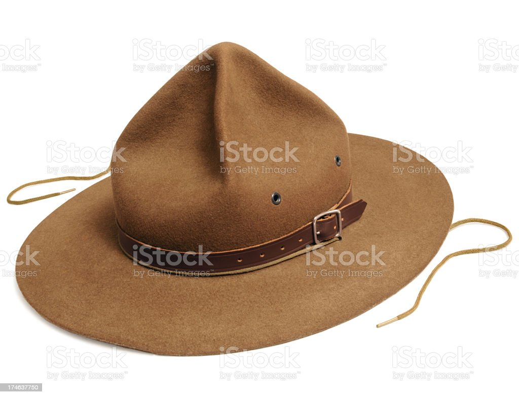 Scout Hat royalty-free stock photo