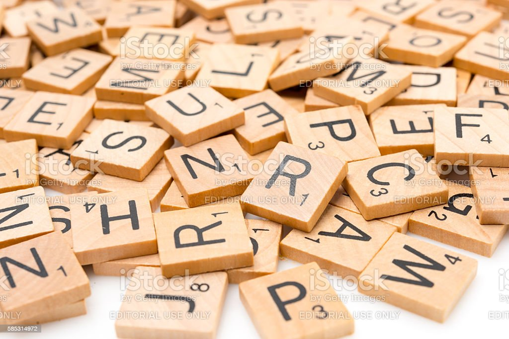 Scrabble Letters Stock Photo - Download Image Now - iStock