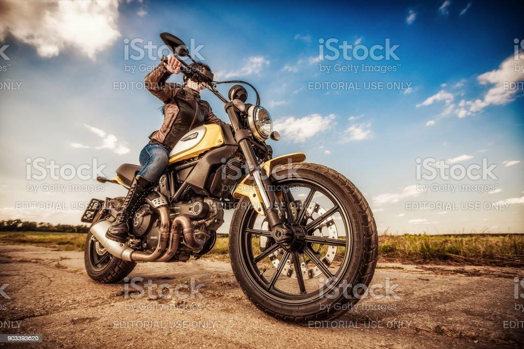 Scrambler-Symbol - Ducati – Foto