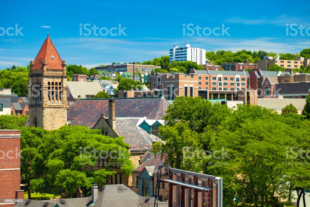 Scranton, Pennsylvania, USA stock photo