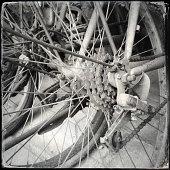 istock Scrap bike 181088813