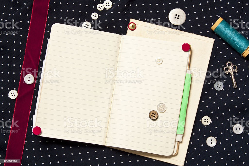 scrap book royalty-free stock photo