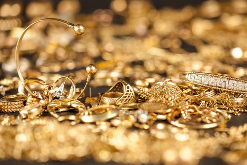 Złom Złota Kolekcja - zdjęcia stockowe i więcej obrazów Antyczny