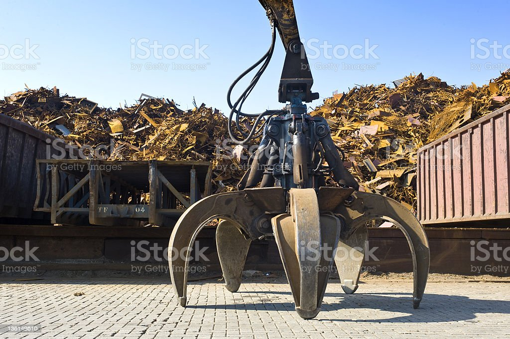 Scrap Heap Claw royalty-free stock photo