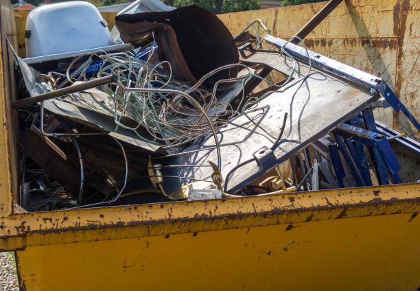 Scrap iron container