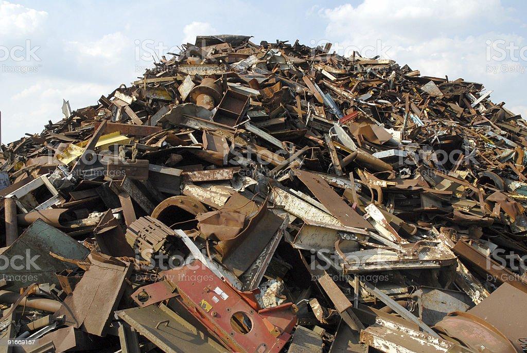 Scrap Iron (4) stock photo