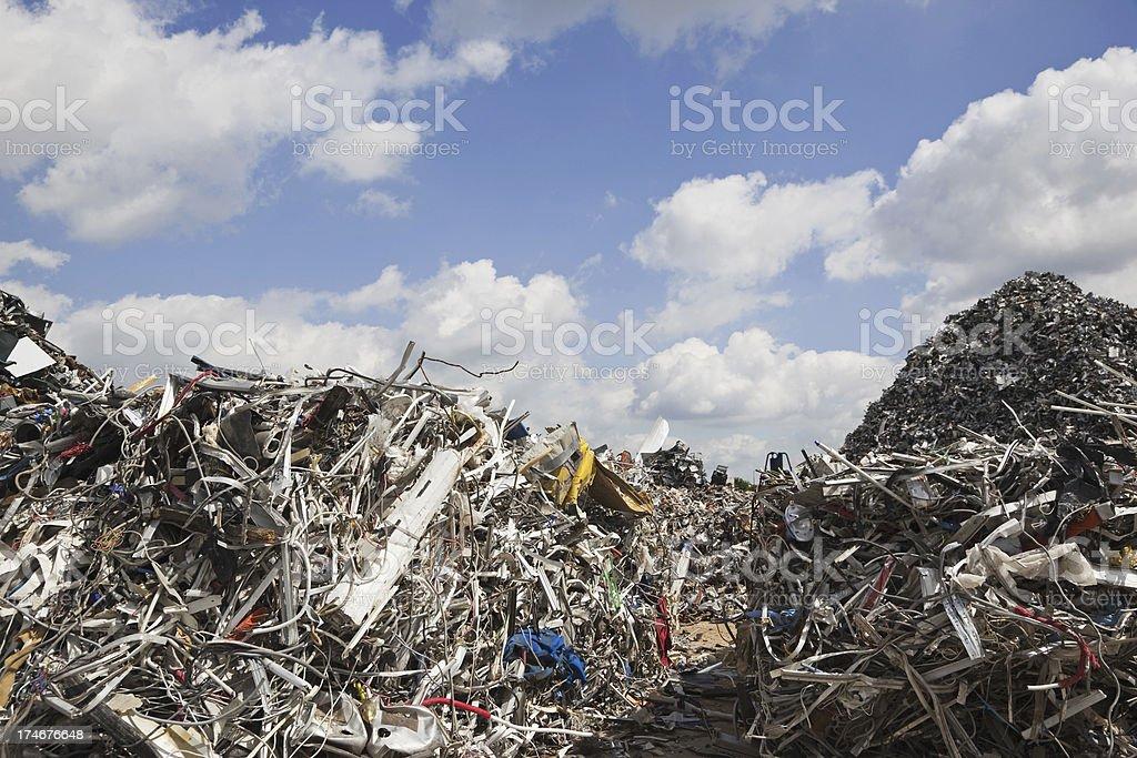 Scrap metal and iron serie # 38 XXXL royalty-free stock photo