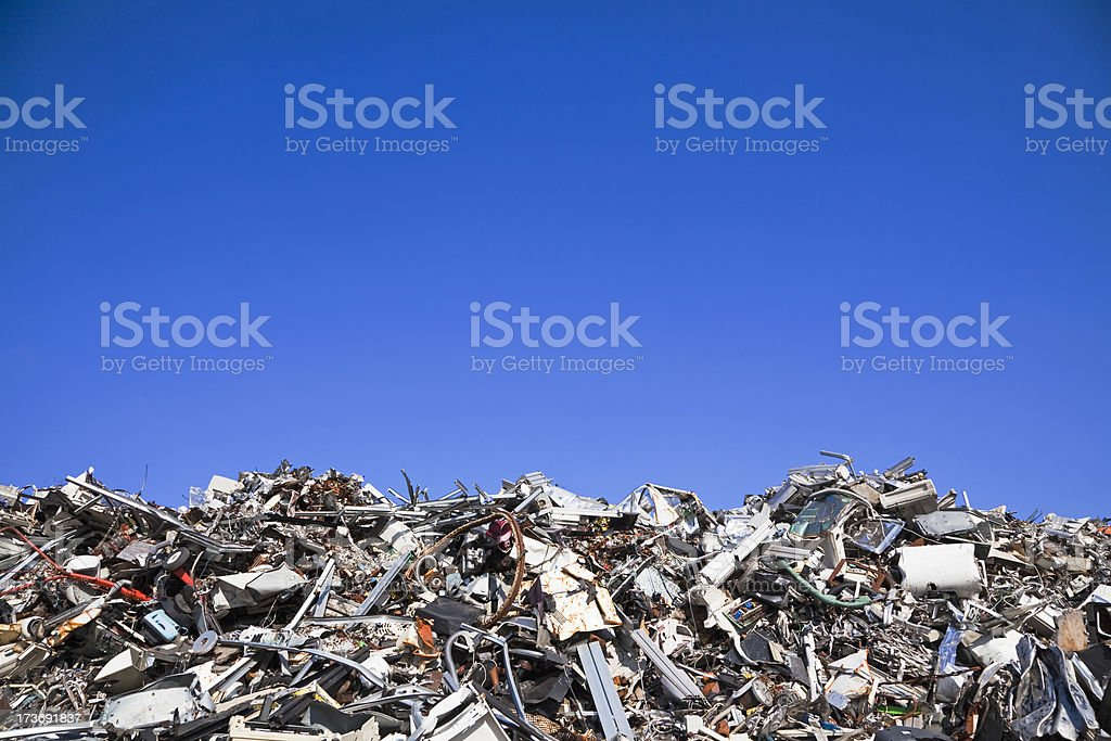 Scrap metal and iron # 29 XXXL stock photo