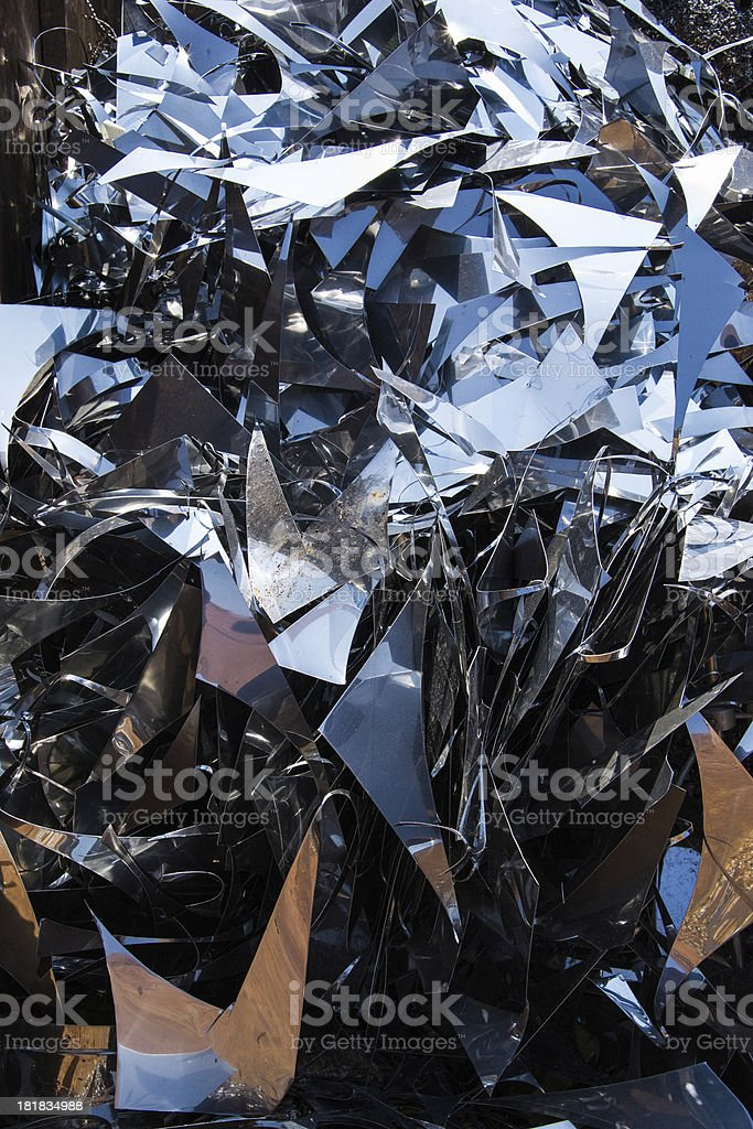 Scrap Metal Background royalty-free stock photo