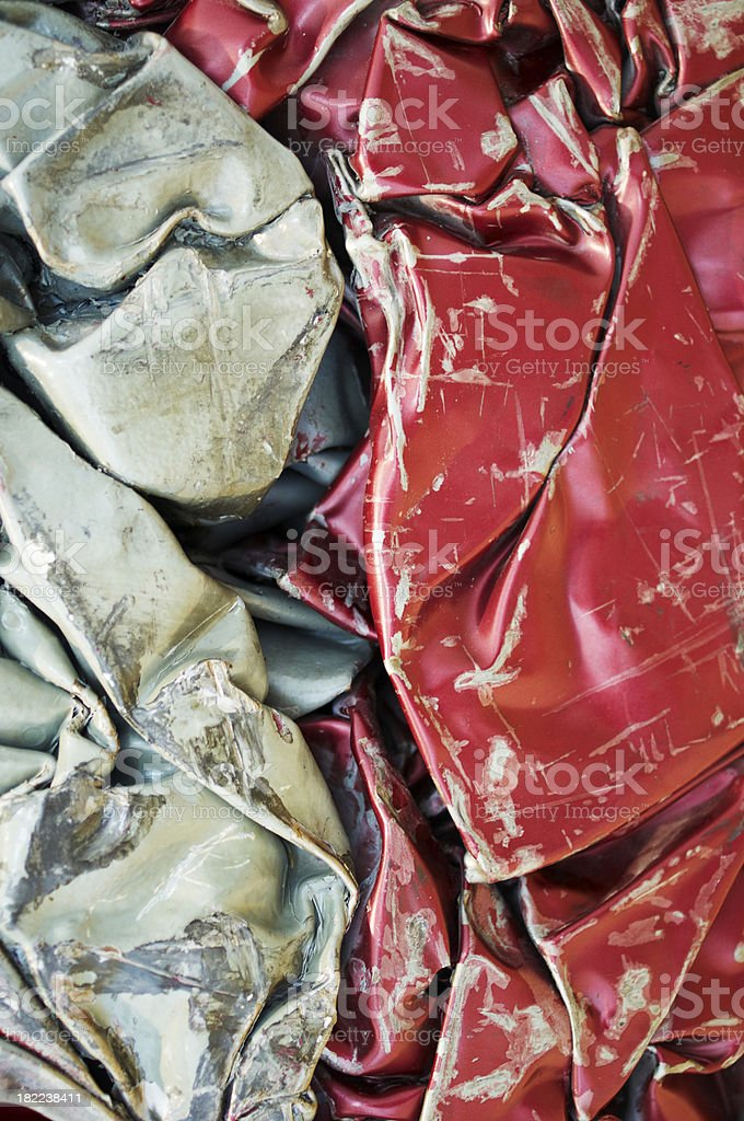 Scrap Metal royalty-free stock photo