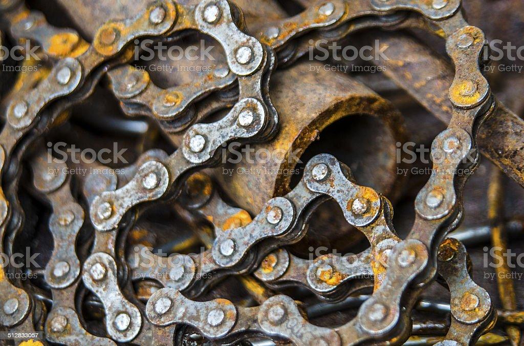 scrap metal stock photo