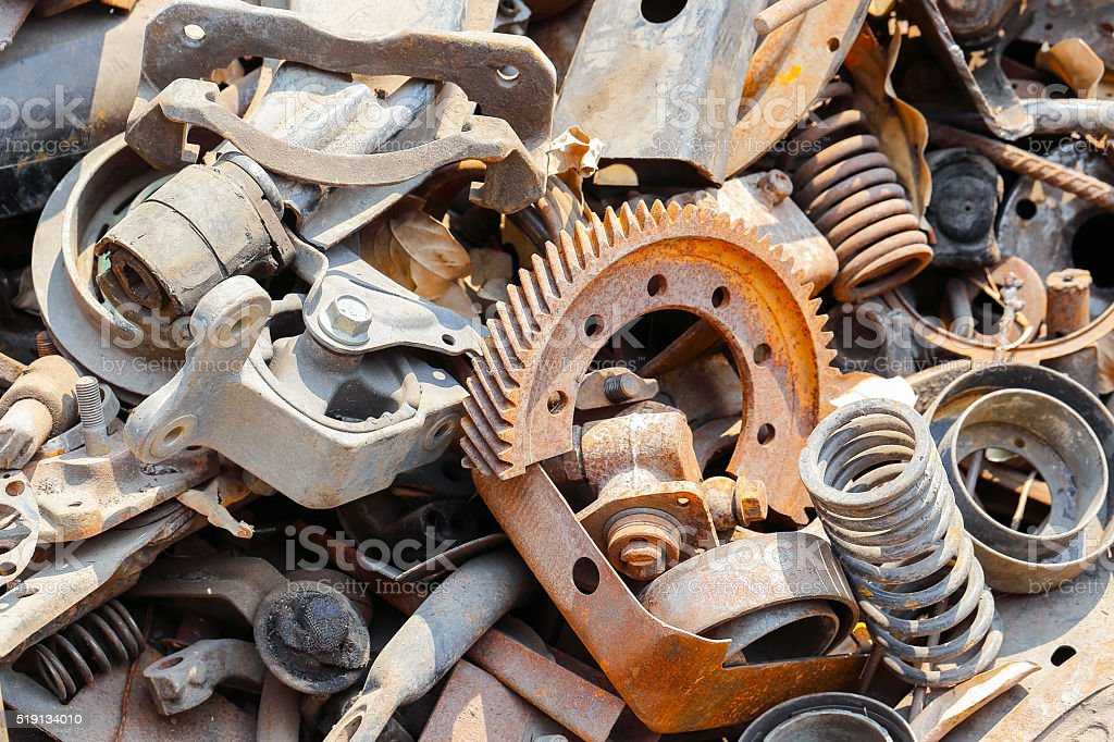 Image result for Scrap metal istock