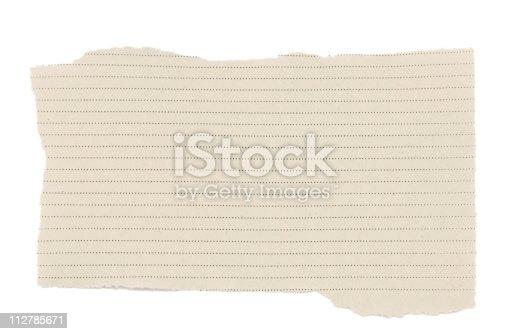 170011440istockphoto Scrap Paper 112785671