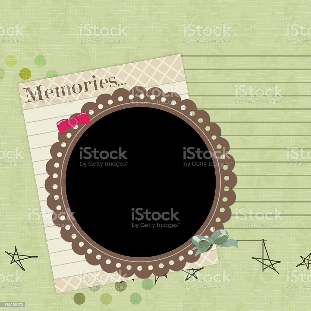 Scrapbook background royalty-free stock photo