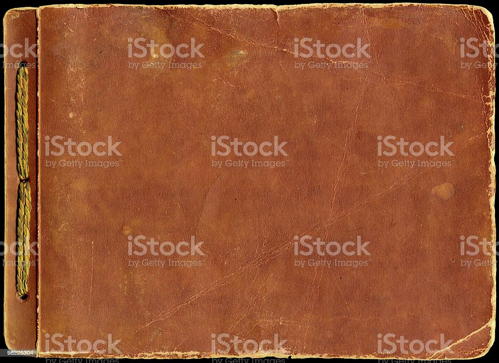 Scrapbook Cover XXL royalty-free stock photo