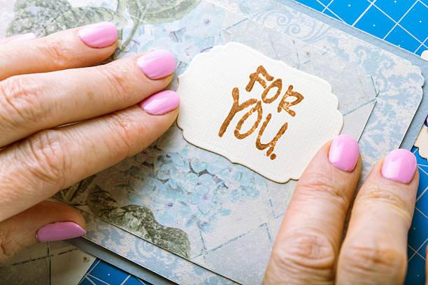 sammelalbum - do it yourself invitations stock-fotos und bilder