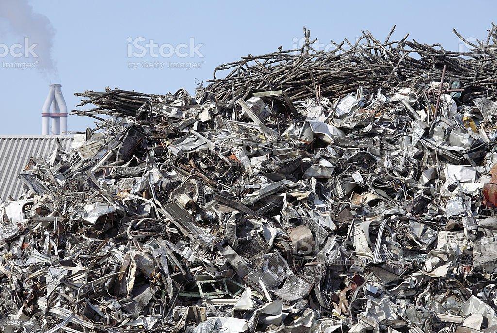 Scrapmetal royalty-free stock photo
