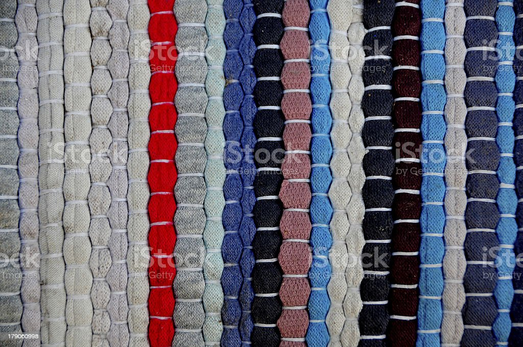 scrappy colored fabric royalty-free stock photo